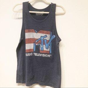 Tops - MTV Medium Muscle Tee